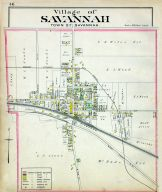 Savannah Village, Wayne County 1904